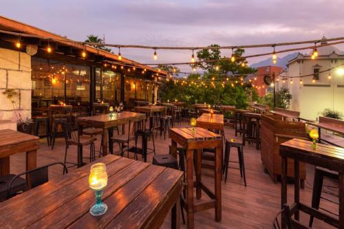 Vista Terraza y Bar Coss